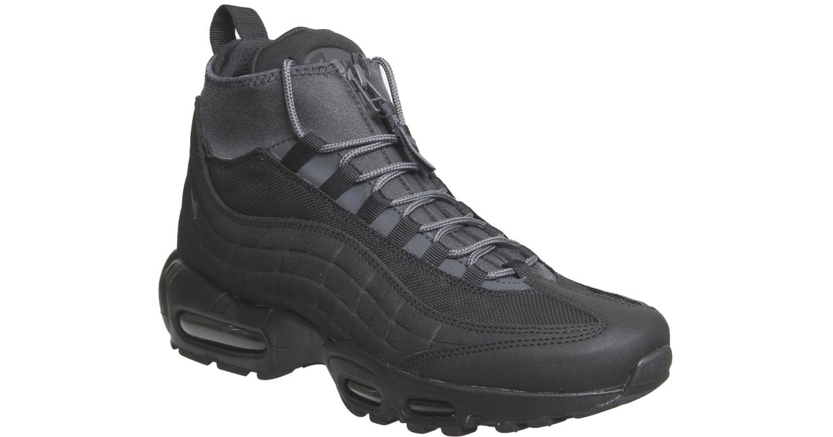 Nike Leather Air Max 95 Sneakerboots in