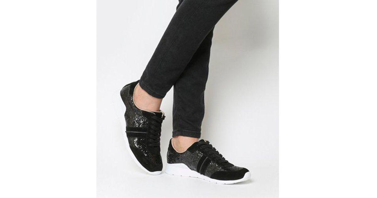 903cfadad7f Ugg Black Jaida Glitter Sneaker