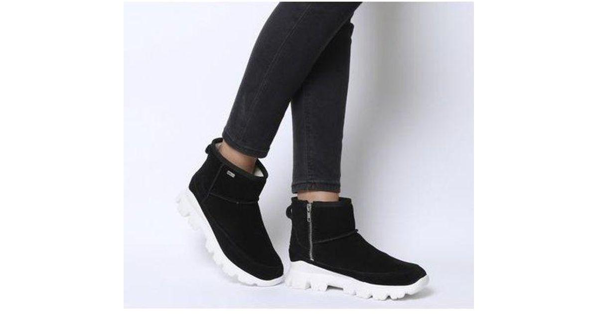 UGG Suede Palomar Sneaker in Black - Lyst