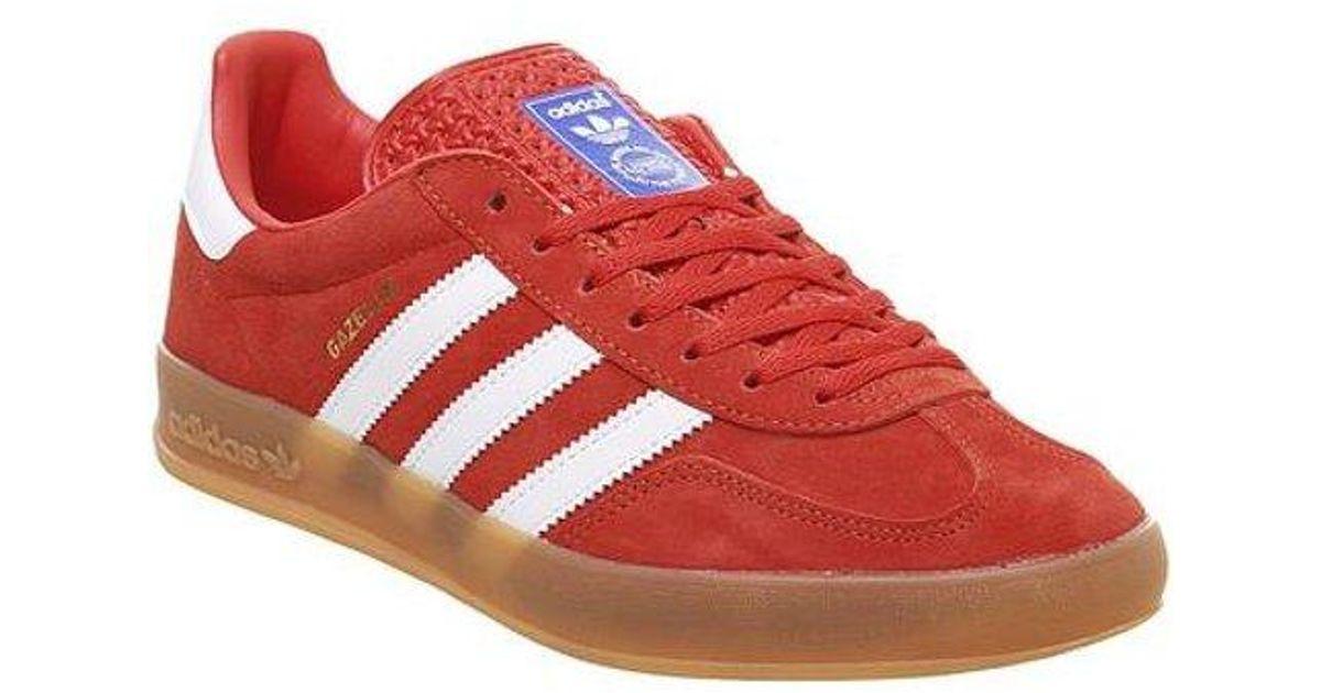 Adidas Red Gazelle Indoor for men