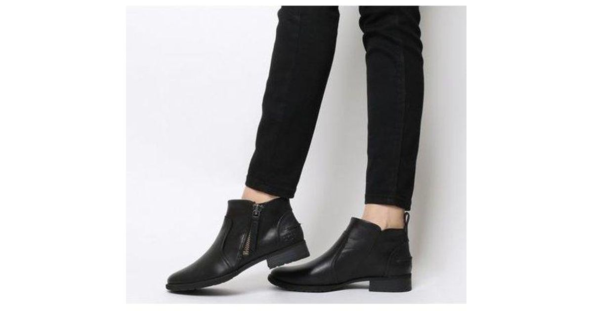 UGG Leather Aureo Boot in Black - Lyst