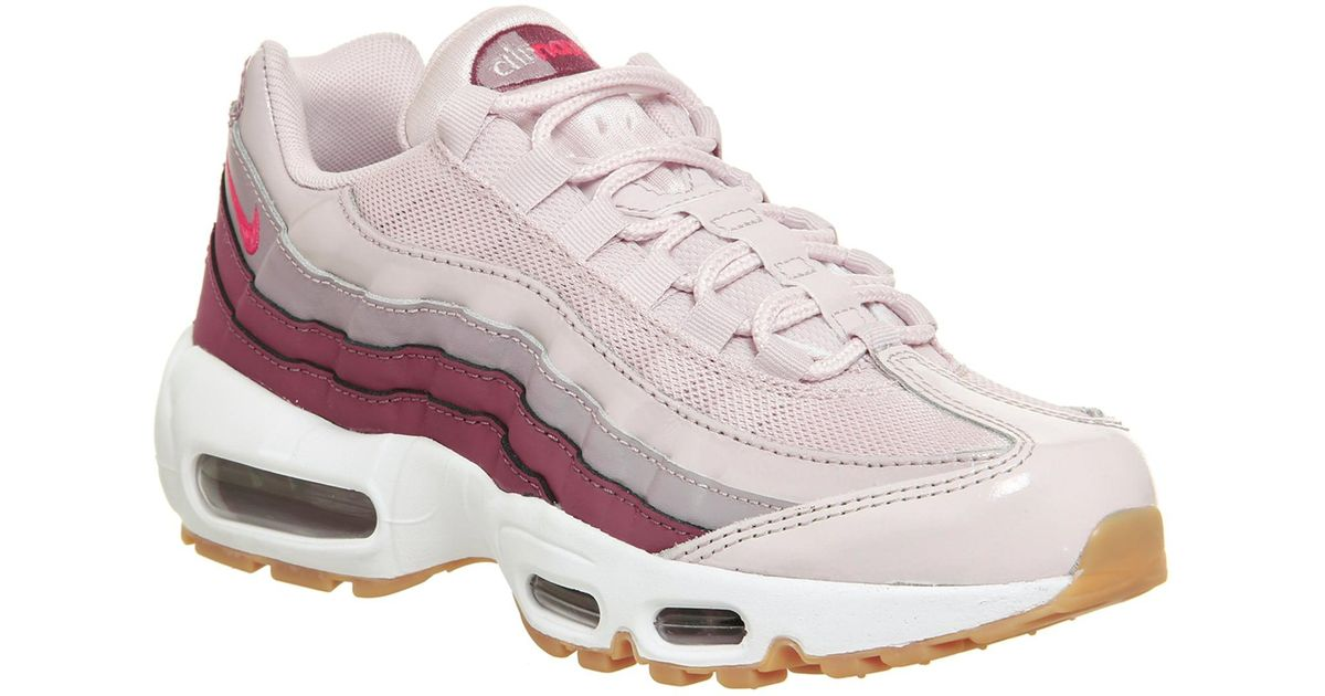 size 40 7e0b9 75df7 Nike Pink Air Max 95 Trainers