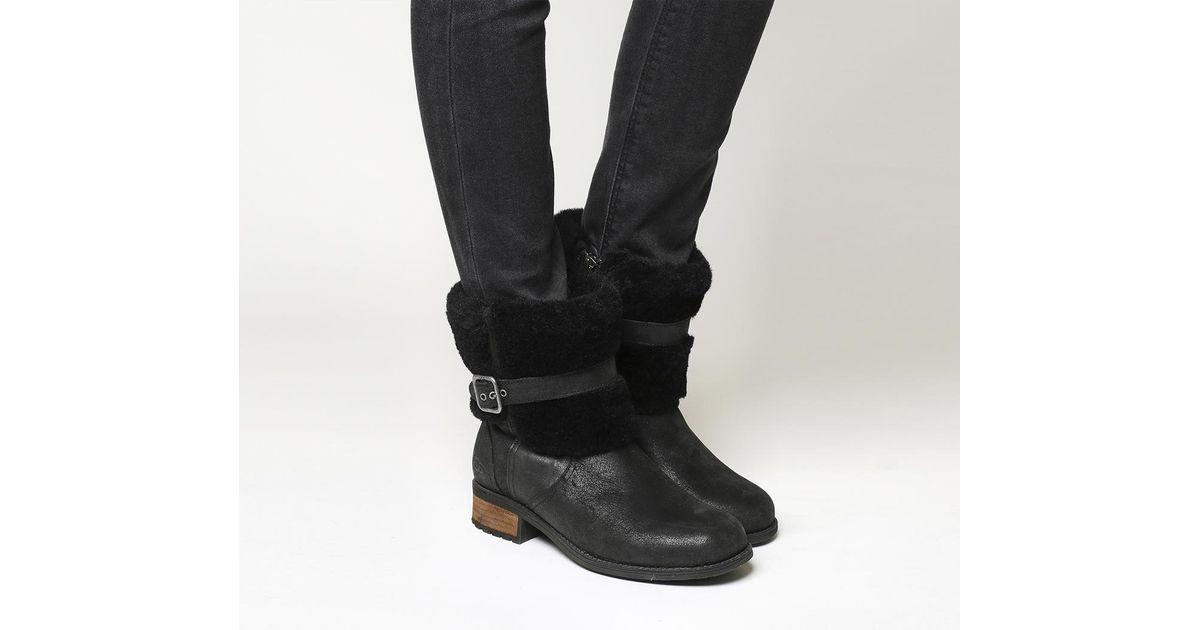 cb42ec796db Ugg Black Blayre Ii Shearling Boots