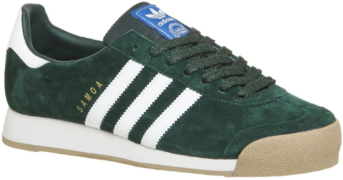 adidas Suede Samoa Vintage in Green for