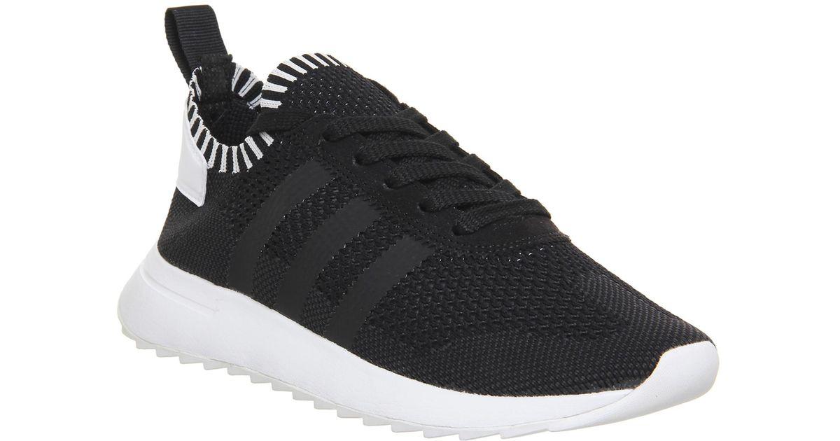 adidas Flashback Prime Knit in Black - Lyst
