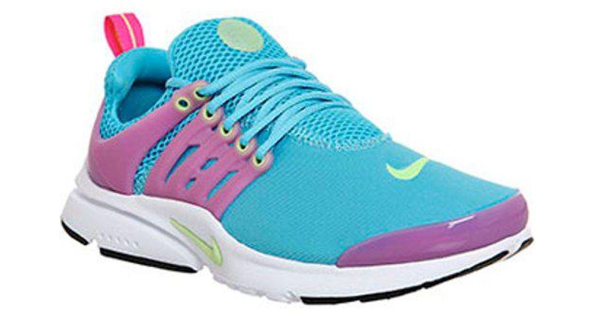 Nike Rubber Presto Gs in Turquoise