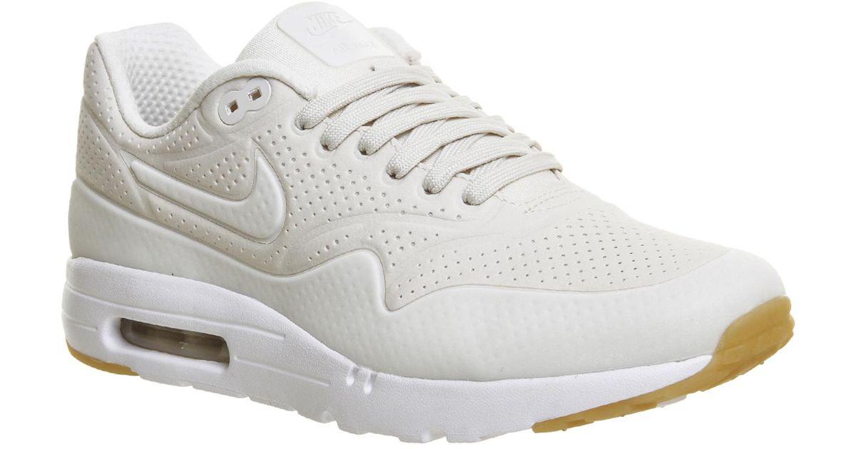 Nike White Air Max 1 Ultra Moire for men