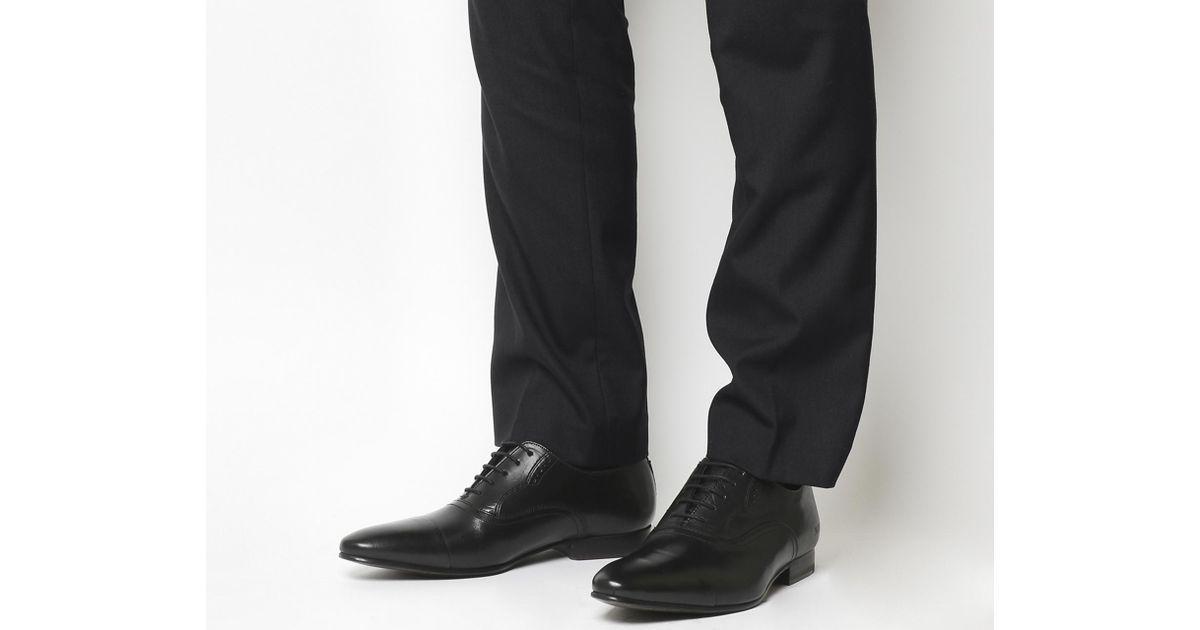 66f5df915baabb Lyst - Ted Baker Murain Toe Cap Shoes in Black for Men