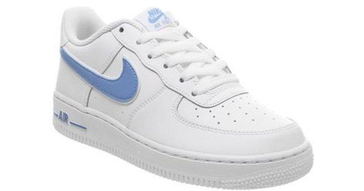 Nike Leather Af1 Boys in White - Lyst