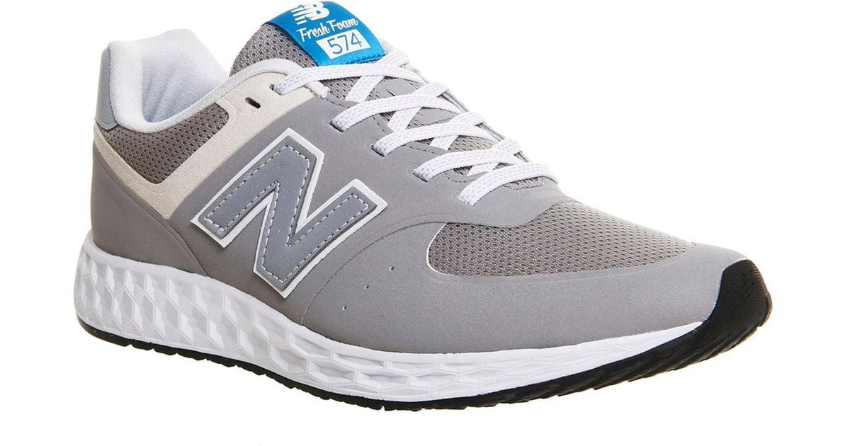 buy online 78bbe 53671 New Balance Gray 574 Fresh Foam