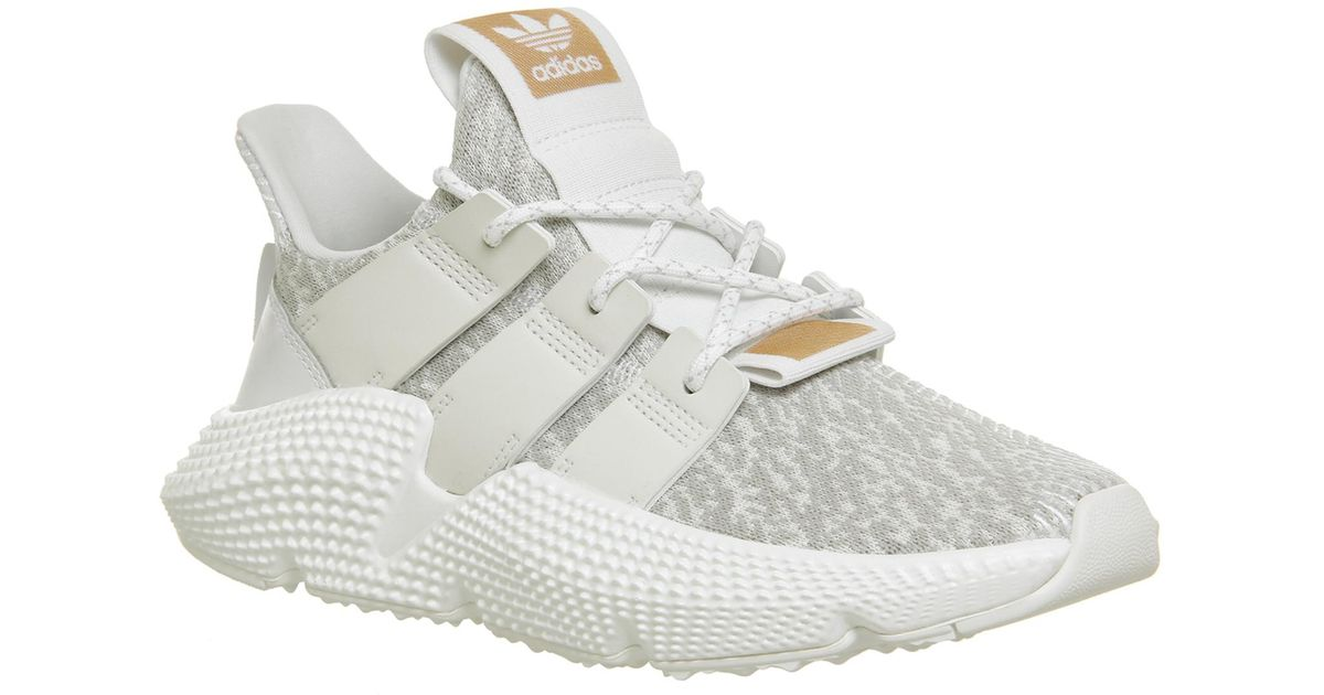 adidas Suede Prophere Trainers in White