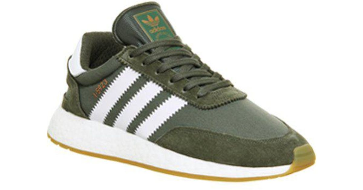 adidas Suede Iniki Runner in Green for