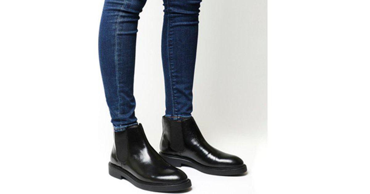 Vagabond Leather Alex Chelsea in Black