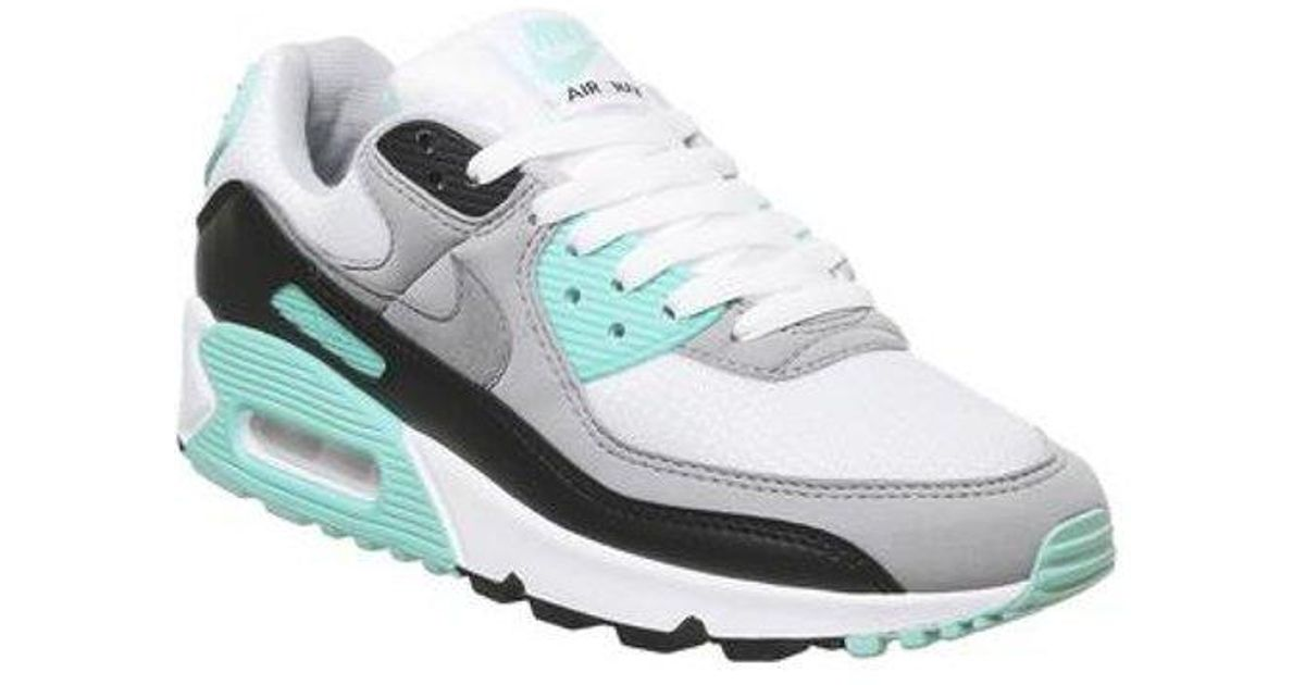 Nike Leather Air Max 90 E in White for Men - Lyst