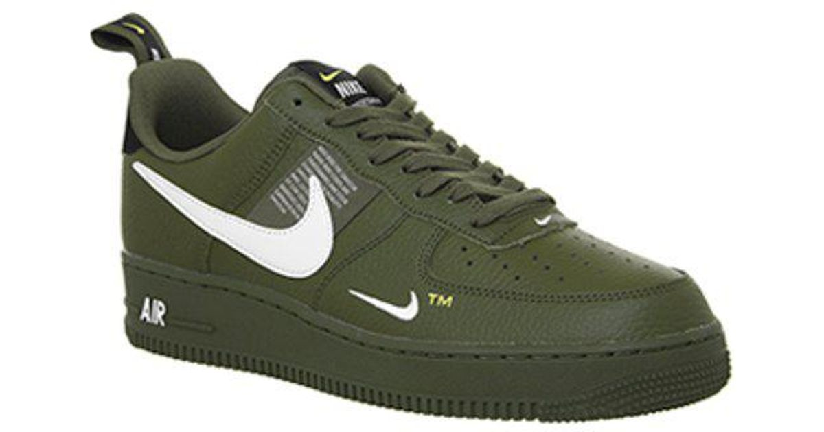 Nike Air Force 1 Utility in Green for