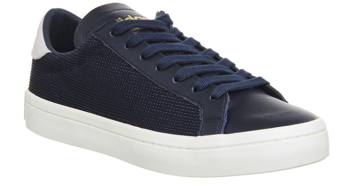 Lyst Adidas Corte Vantage In Blu Per Gli Uomini.