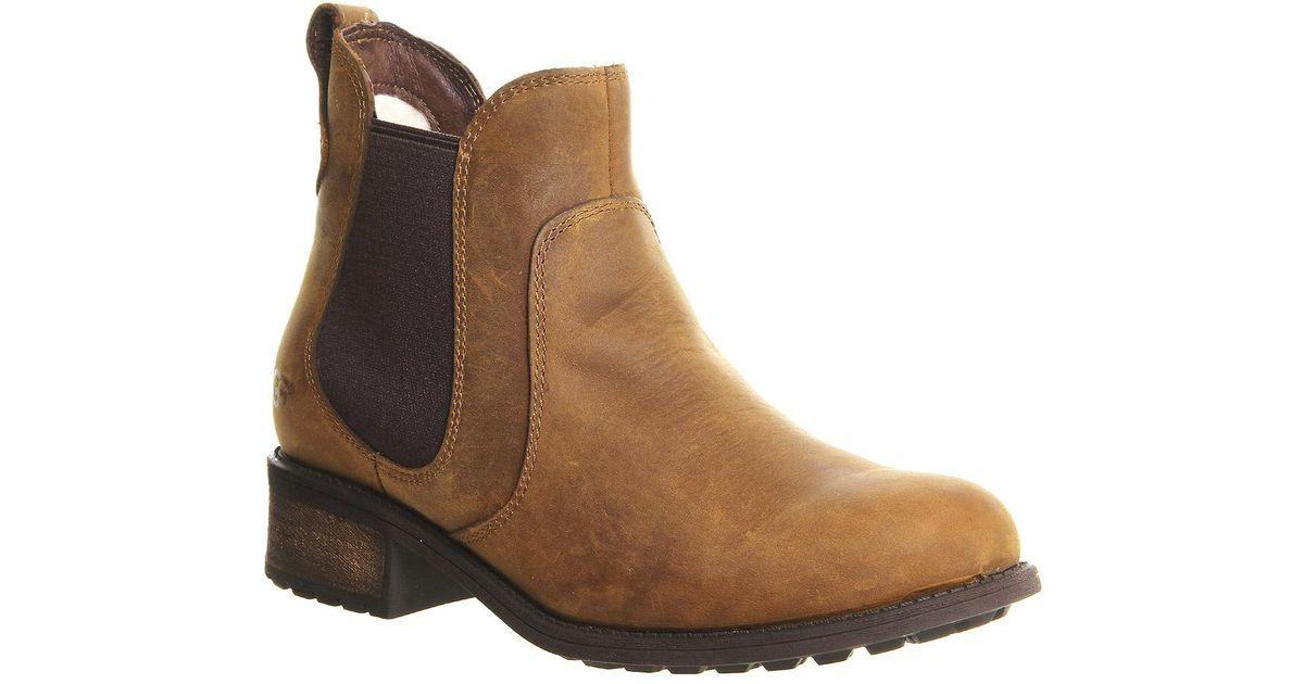 UGG Leather Bonham Chelsea Boots in