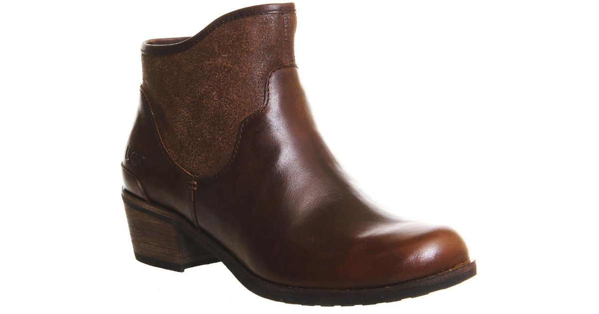 dc182bc607f Ugg Brown Penelope Ankle Boots