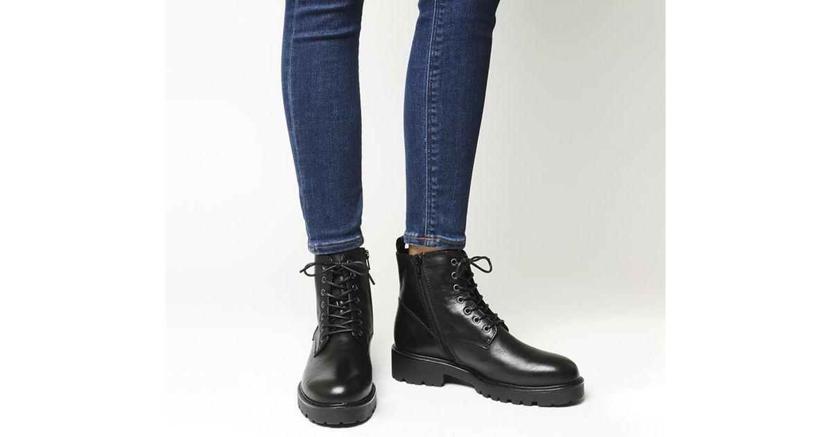 Vagabond Kenova Lace Boots in Black - Lyst