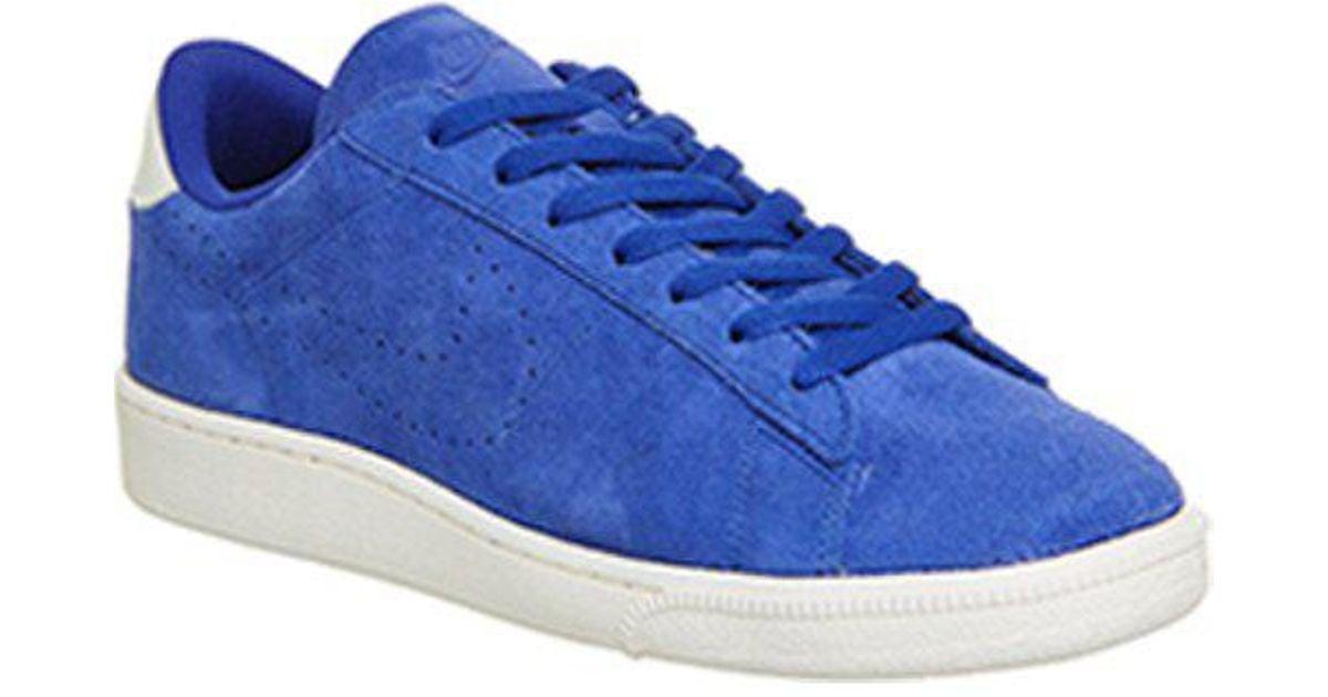 Nike Blue Tennis Classic Cs Suede for men