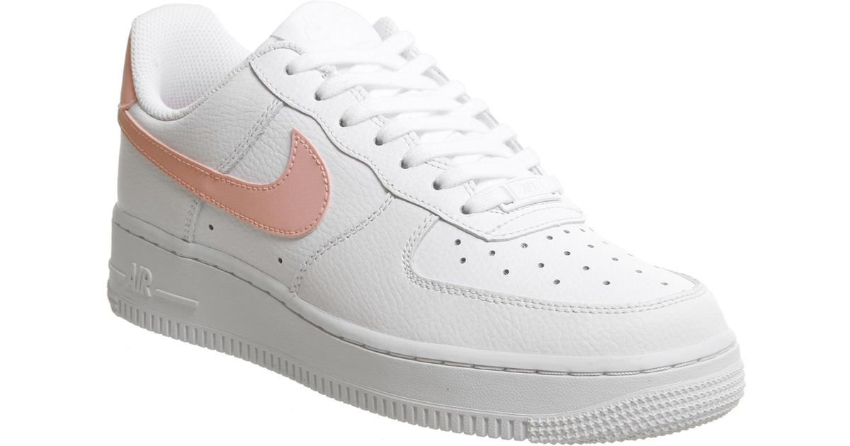 huge discount 082e8 31246 Lyst - Nike Air Force 1 07 Trainers in White