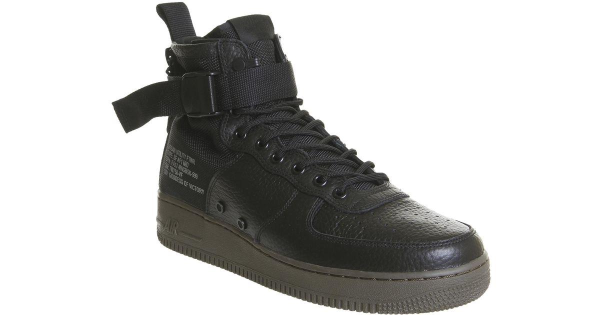 hot sale online c3bd5 a1dea Nike Black Sf Af1 Mid for men