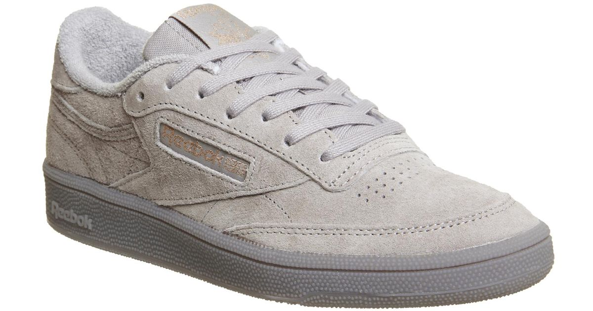 f967e553c62 Lyst - Reebok Club C 85 Trainers in Gray - Save 69.81132075471697%