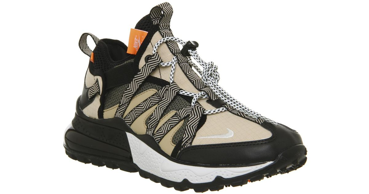 Nike Air Max 270 Bowfin Sneakers in Black for Men - Lyst 08567ea4e
