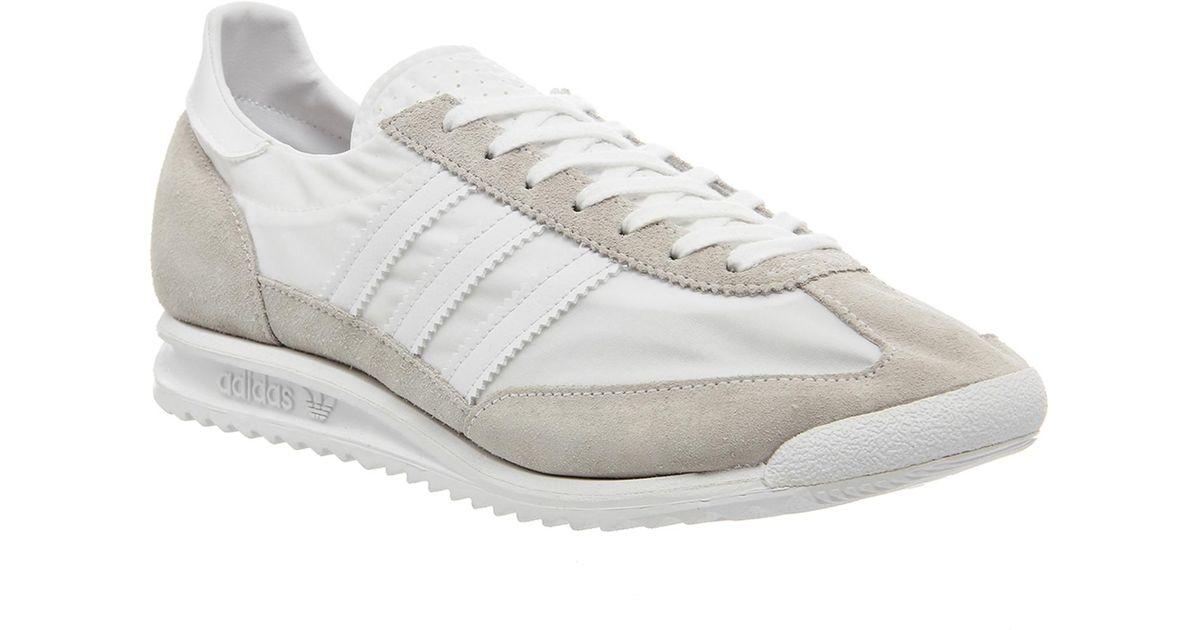 San Francisco ce964 3e53d Adidas White Sl 72 Hyke for men