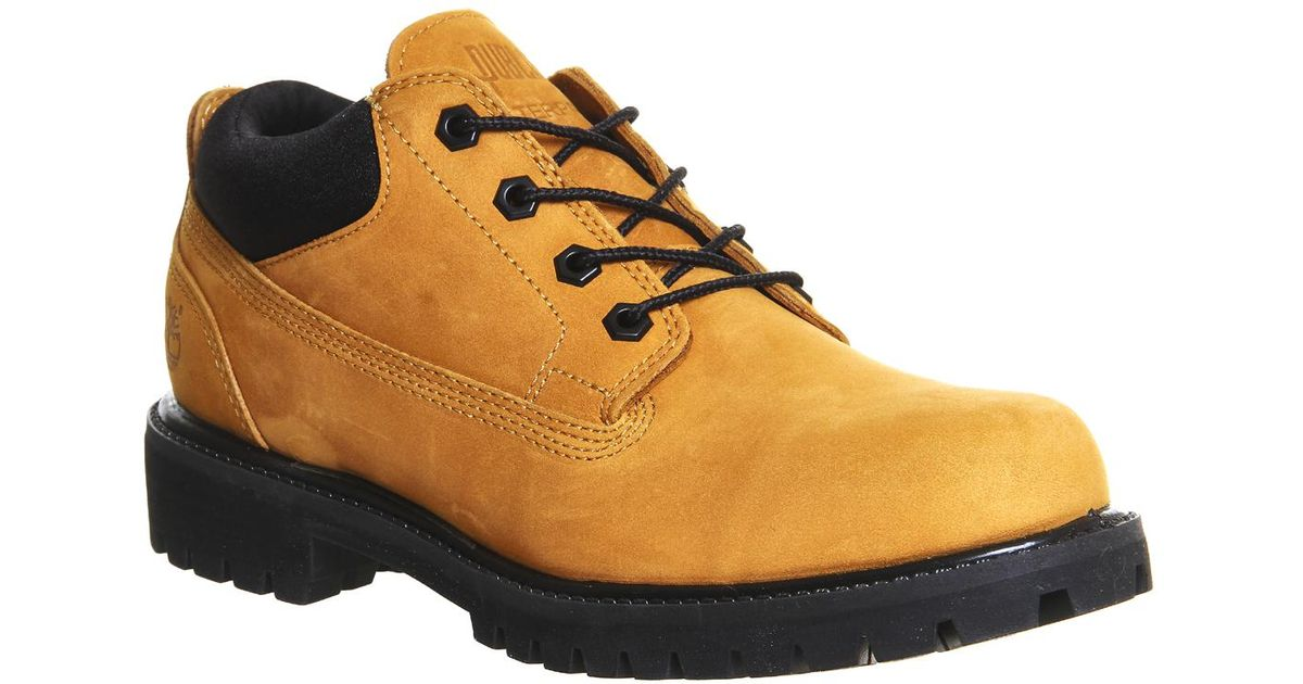 poetas Sabor junto a  Timberland Neoprene Wp Ox X Publish Shoe for Men - Lyst