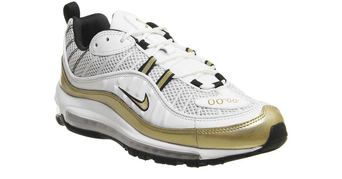 best website 5265e 01890 Nike Metallic Air Max 98 Uk 'prime Meridian' for men