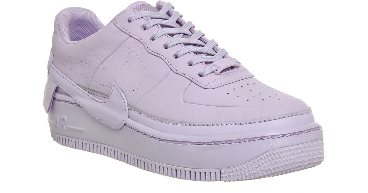Nike Purple Air Force 1 Jester Trainers