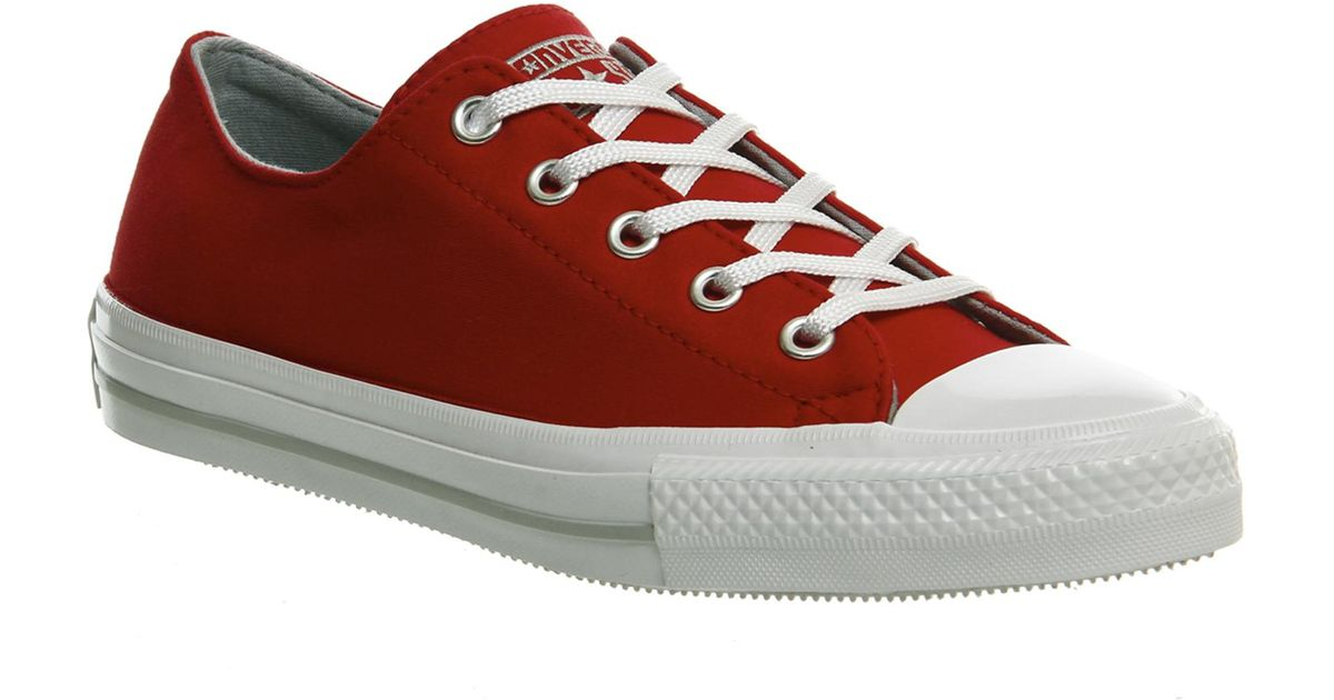 42856081b17f4c Lyst - Converse Ctas Gemma Low Canvas in Red for Men