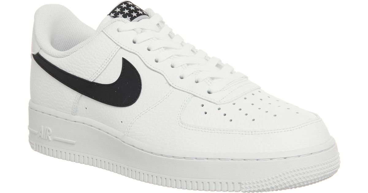 Nike Leather Air Force 1 07 Trainers in