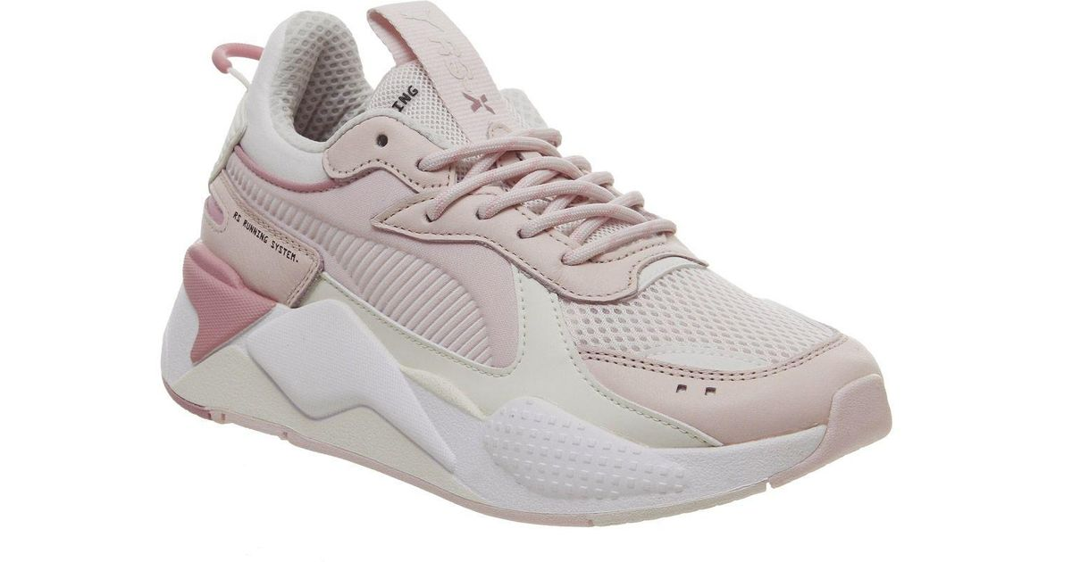 PUMA Pink Rs-x Tracks Trainers