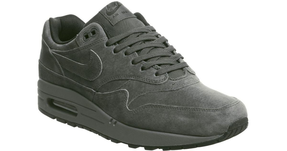 Nike Gray Air Max 1 Trainers for men
