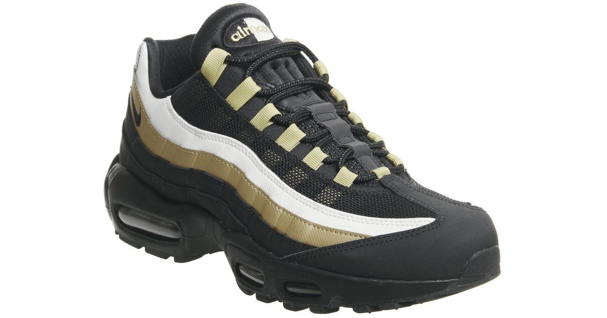 superior quality ab1db 45d42 Nike Black Air Max 95 Trainers for men