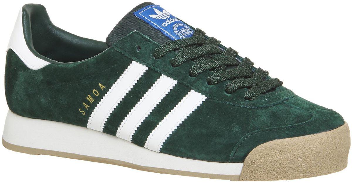 adidas Suede Samoa Vintage in Green