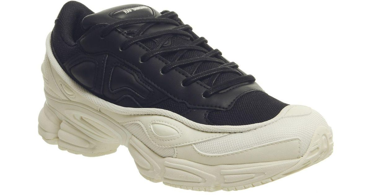 buy online b32a4 79a86 Adidas By Raf Simons Black Ozweego Iii Trainers for men
