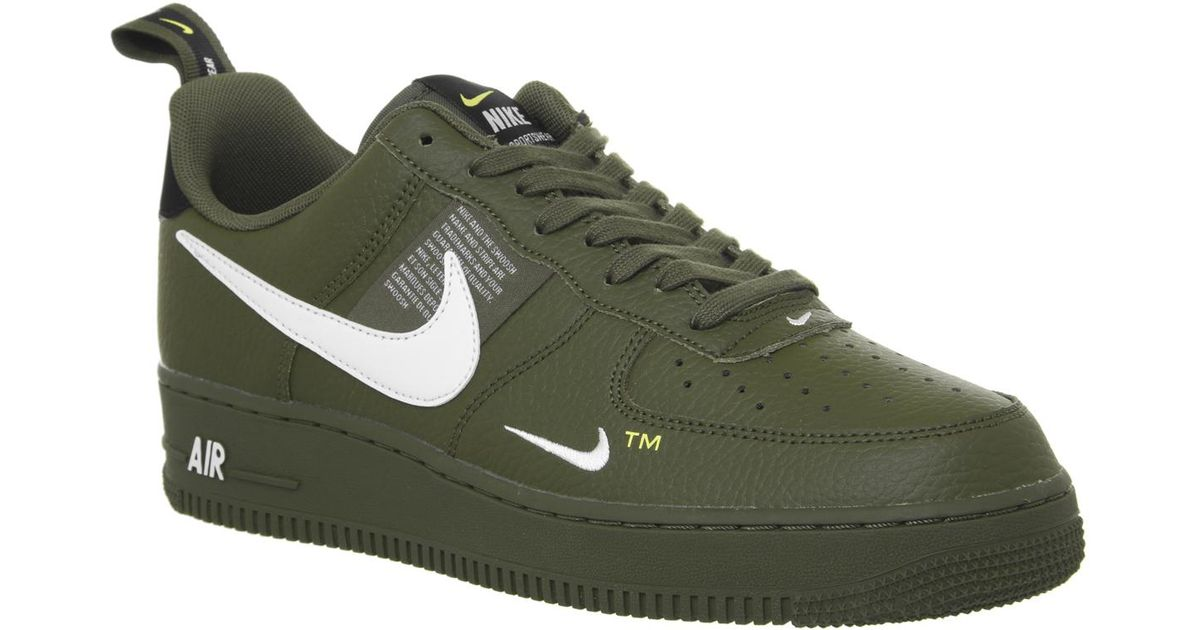 fe0ac5946503 ... where can i buy lyst nike air force 1 07 lv8 utility low in green for