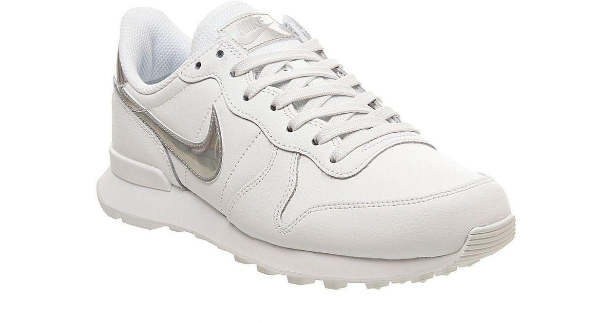 Nike Leather Internationalist Trainers