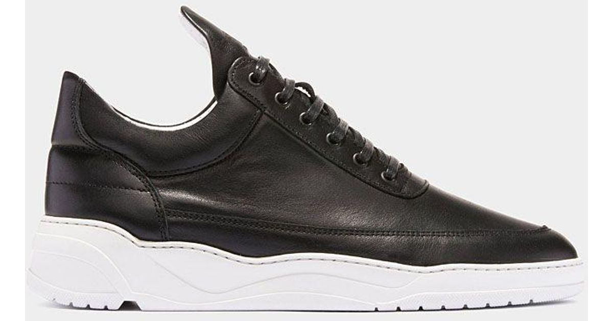 f76b856b8cc2 Filling pieces Black Low Top Astro Sneakers in Black for Men