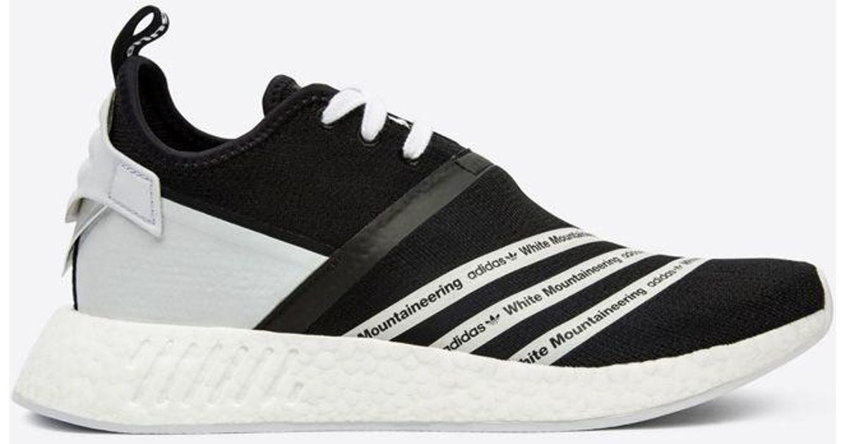 uk availability e6b16 e3564 Adidas Wm Nmd R2 Pk Black/white Sneakers for men