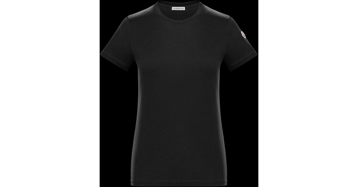 795873ad Lyst - Moncler T-shirt in Black