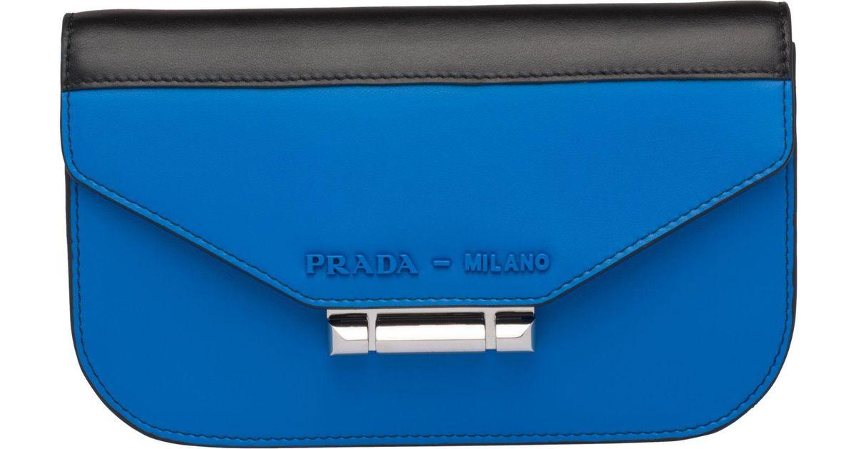 de311ffdb1 Prada Blue Sybille Leather Mini-bag