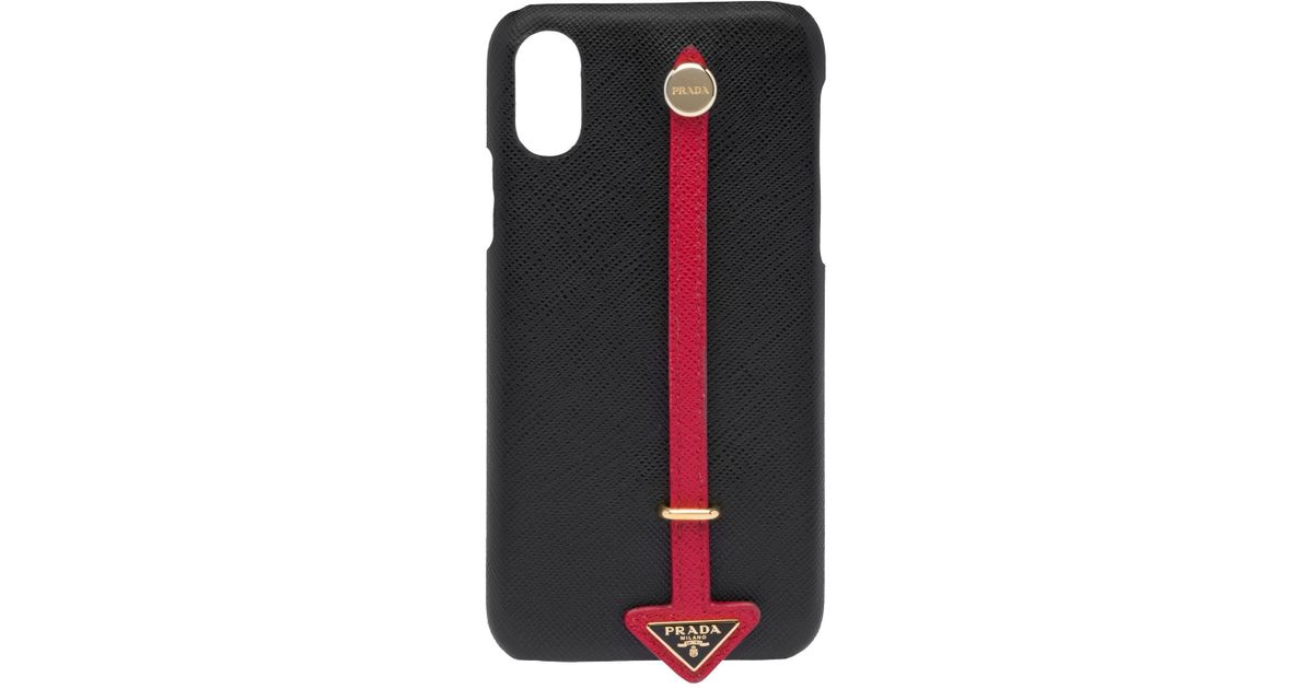 b06fc1df Prada Black My Character Iphone X And Xs Cover