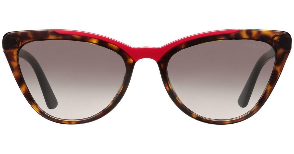 0a8df8cf0 Prada Ultravox Sunglasses Alternative Fit - Lyst