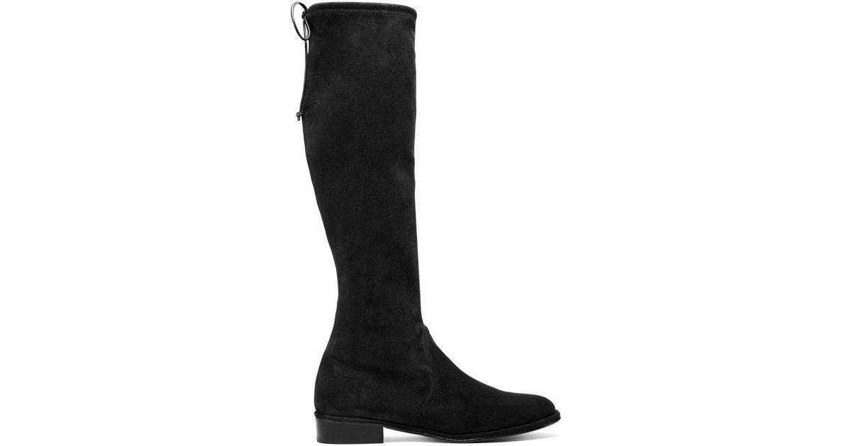 ffa8c3c3dae Lyst - Stuart Weitzman The Kneezie Boot in Black
