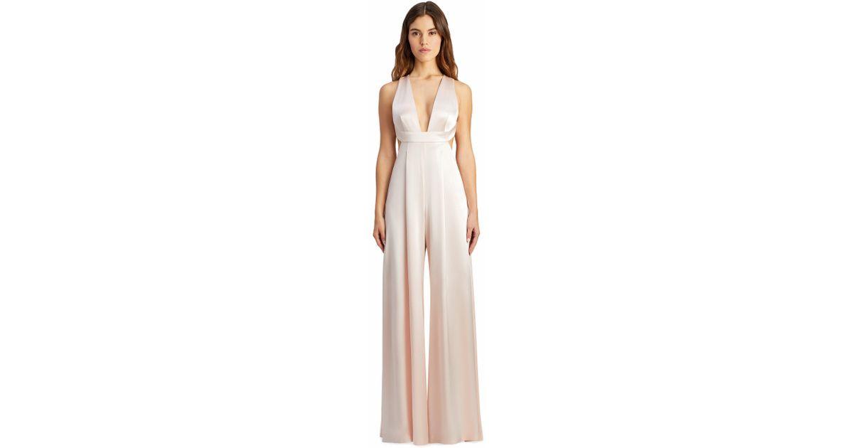13904b8db0e Lyst - JILL Jill Stuart Ondria Jumpsuit in Pink