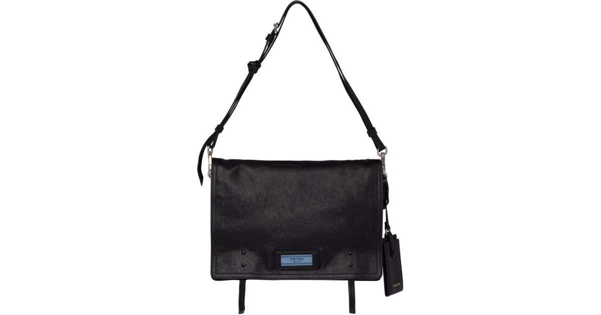 1643ca12130c Lyst - Prada Etiquette Bag in Black